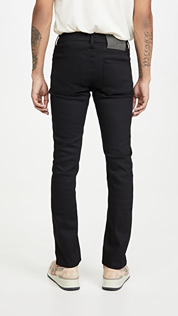Naked & Famous Skinny Guy in Black Wash