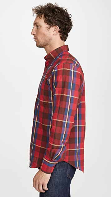 Naked & Famous Long Sleeve Easy Shirt