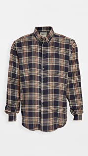 Naked & Famous Cotton Silk Flannel Easy Shirt