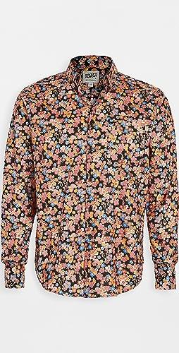 Naked & Famous - Japan Festival Floral Easy Shirt
