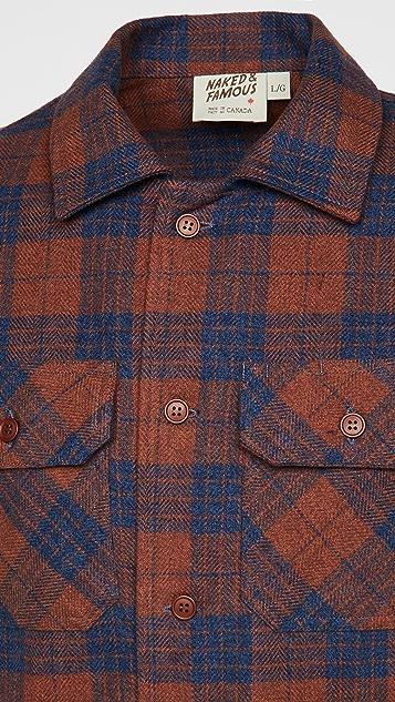 Naked & Famous Triple Yarn Vintage Work Shirt