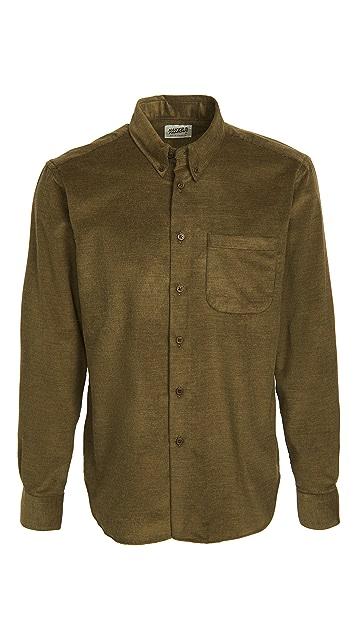 Naked & Famous Corduroy Yarn Dyed Easy Shirt