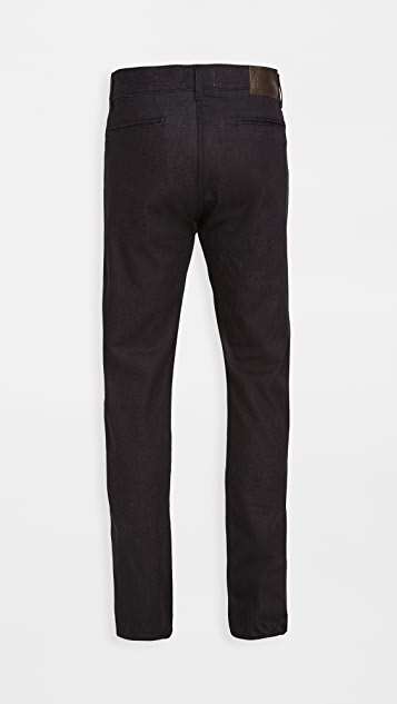 Naked & Famous Pure Indigo Stretch Twill Denim Jeans
