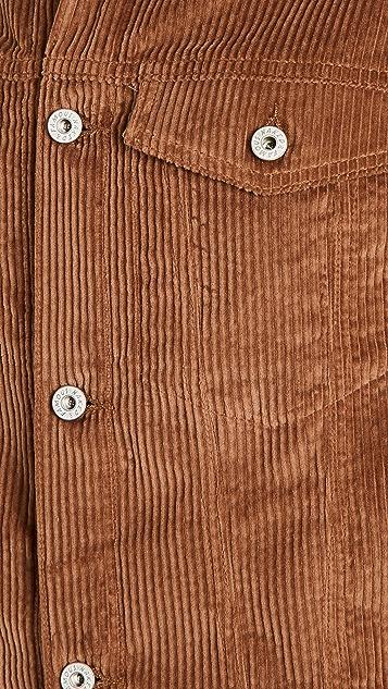 Naked & Famous Seersucker Corduroy Jacket