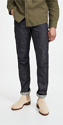 Naked & Famous - Chinese New Year Gold Ox Jeans