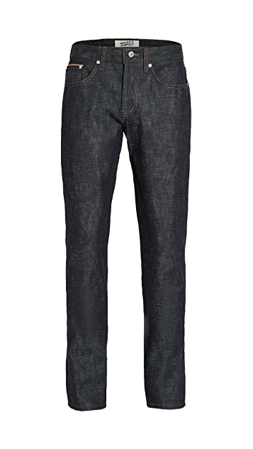 Naked & Famous Chinese New Year Gold Ox Jeans