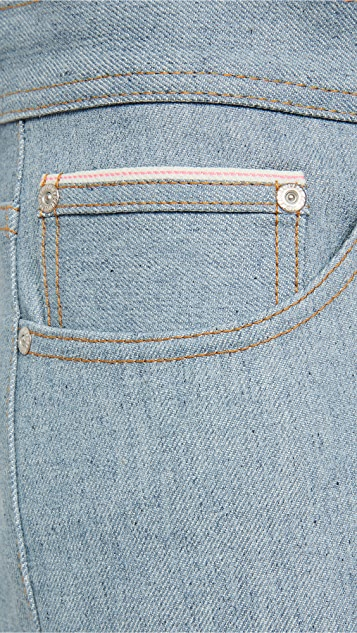 Naked & Famous Weird Guy Recycled Selvedge Jeans