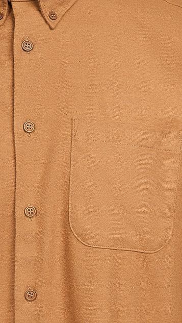 Naked & Famous Soft Twill Easy Shirt - Dijon