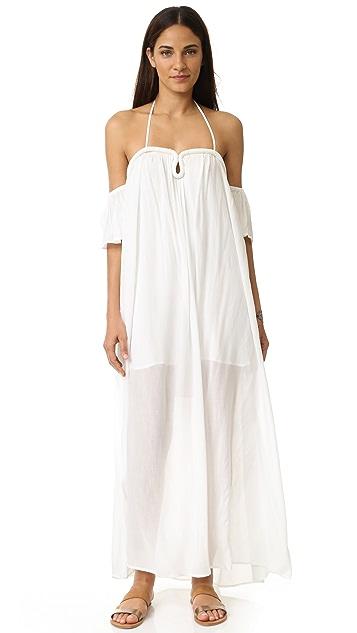 752c12a1cf0 re named Crinkle Curve Flutter Sleeve Maxi Dress