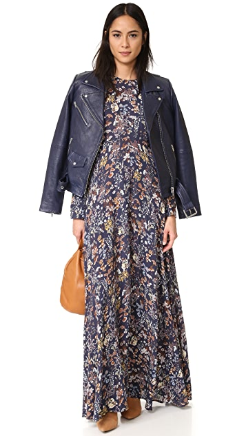 re:named Little Blooms Maxi Dress