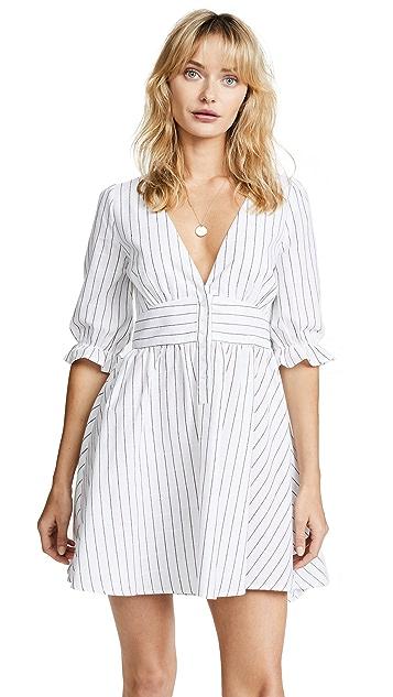 re:named Stripe Dress