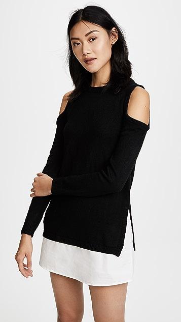 re:named Платье-свитер с открытыми плечами