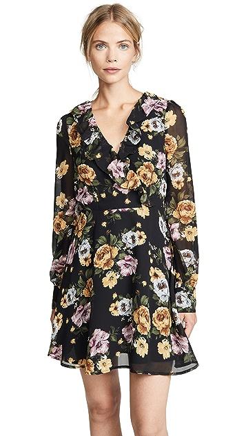 re:named Floral Long Sleeve Dress