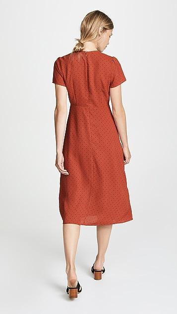 re:named Polka Dot Dress
