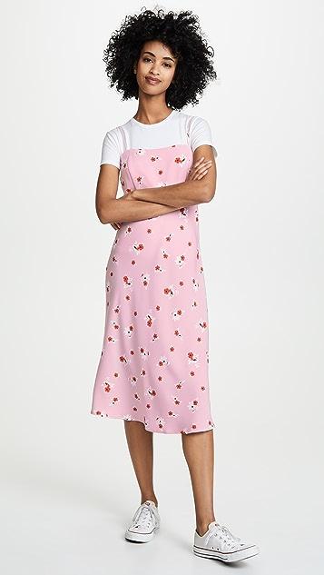 re:named Brenda Floral Midi Dress