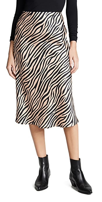 re: named Jully Tiger Midi Skirt - Nude/Black