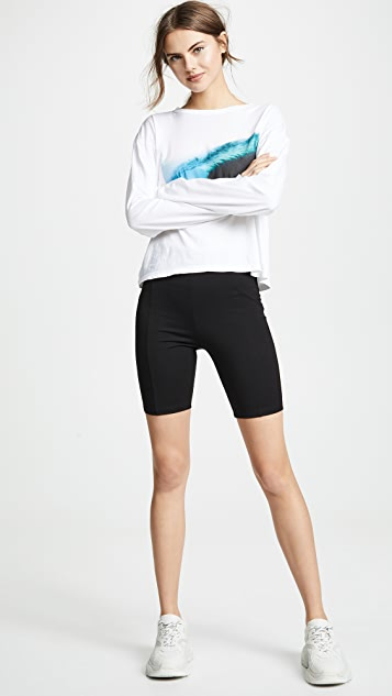 re:named Feline Biker Shorts