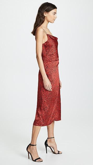 re:named Платье-комбинация с леопардовым принтом