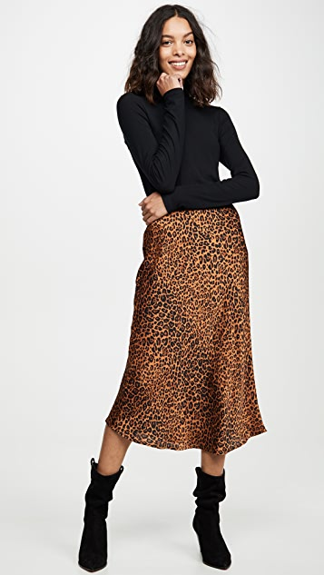 re:named Slip Midi Skirt