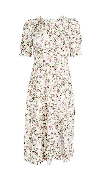 re:named Allete Floral Midi Dress