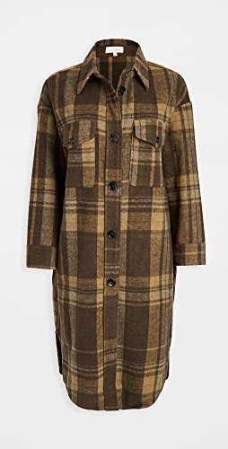 re:named - Plaid Long Jacket