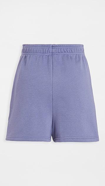 re:named 毛圈绒布弹性腰部短裤