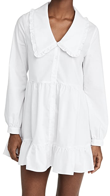 re:named Eli Large Collared Dress
