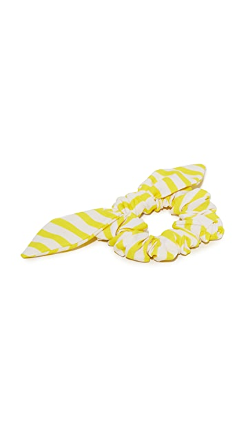 NAMJOSH Striped Hair Tie Bow