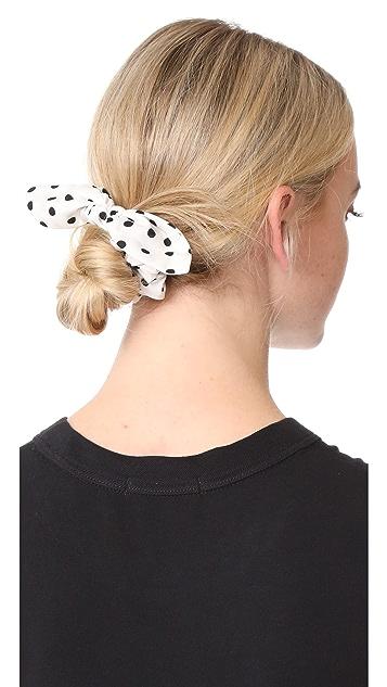 NAMJOSH Dots Hair Tie Bow