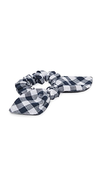 NAMJOSH Gingham Hair Tie Bow