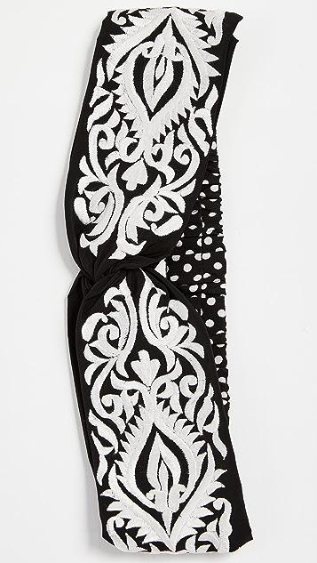 NAMJOSH Embroidered Turban Headband