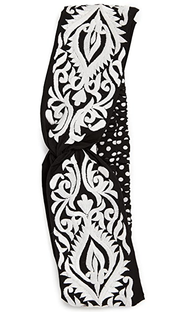 NAMJOSH Embroidered Turban Headband