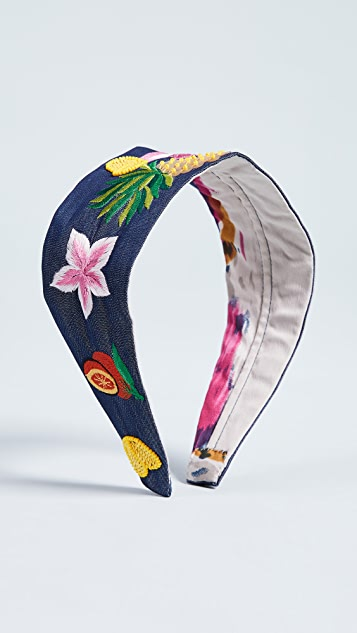 NAMJOSH Fruit & Flower Headband