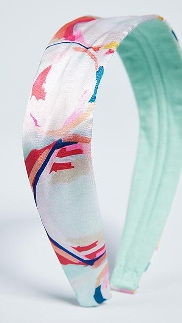 NAMJOSH Pastel Floral Print Headband