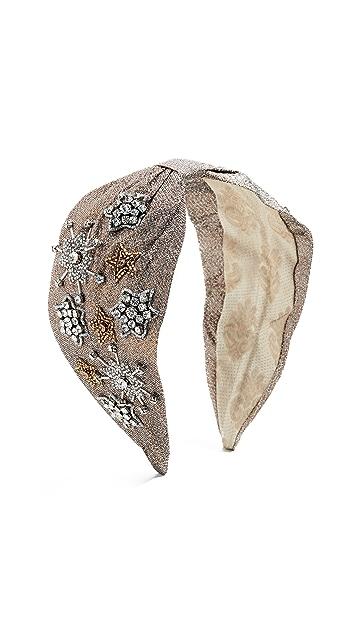 NAMJOSH Metallic Embellished Headband