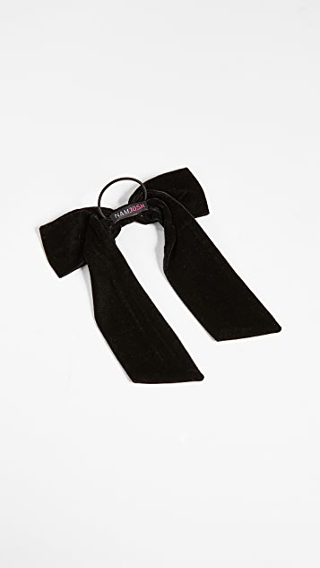 NAMJOSH Velvet Bow Pony Holder