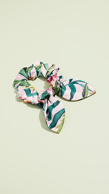 NAMJOSH Floral Scrunchie