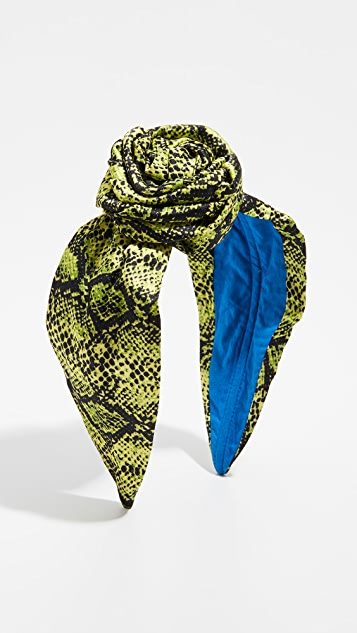 NAMJOSH Snakeskin Bun Headband