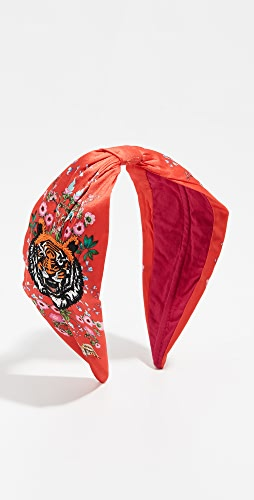 NAMJOSH - Tiger Embroidered Headband