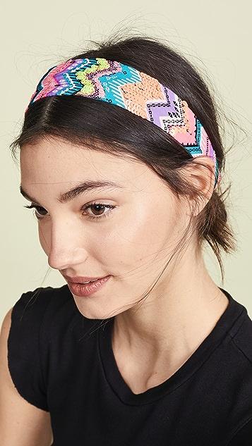 NAMJOSH Neon Ikat Pring Headband