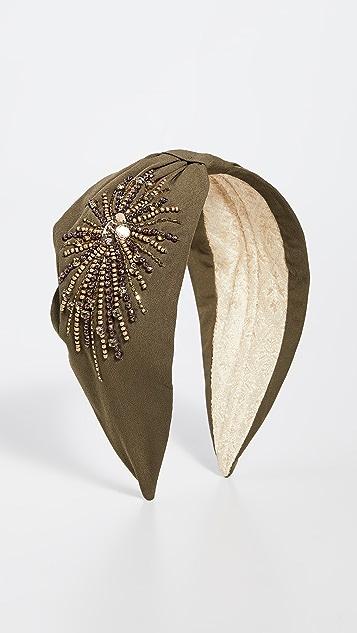 NAMJOSH Solid Starburst Headband