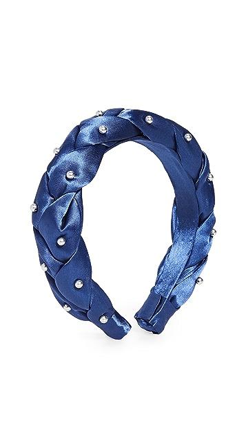 NAMJOSH 人造珍珠饰物编织发带