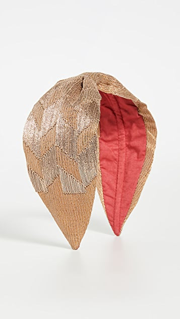 NAMJOSH Bronze Headband