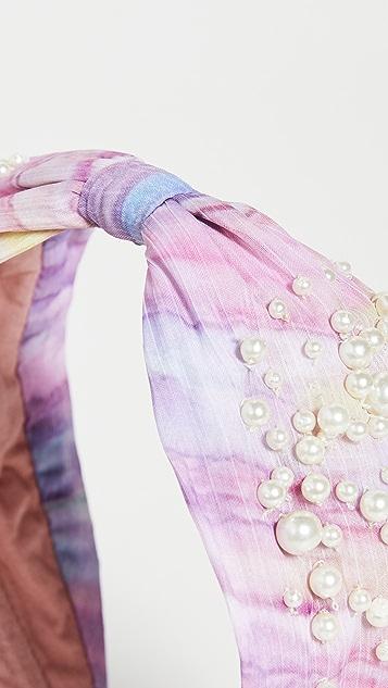 NAMJOSH Tie Dye Pink Headband