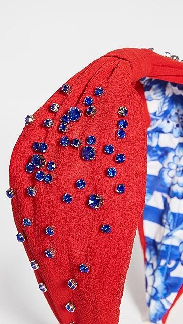 NAMJOSH Crystal Embellished Headband