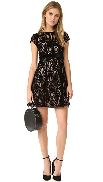 Nanette Lepore Boudoir Lace Dress