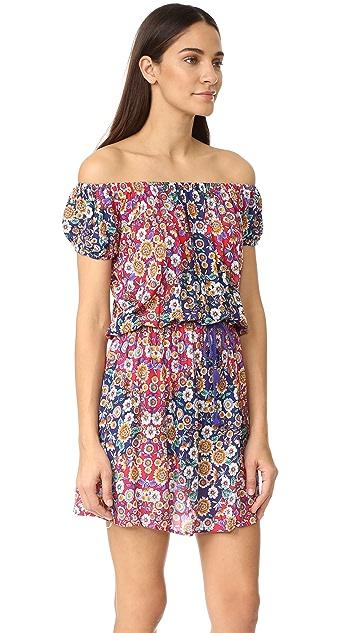 Nanette Lepore Desert Diamond Off the Shoulder Cover Up Dress