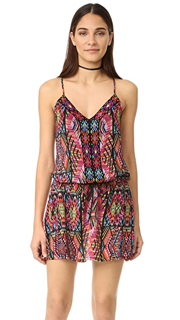 Nanette Lepore Mayan Mosaic Cover Up Dress