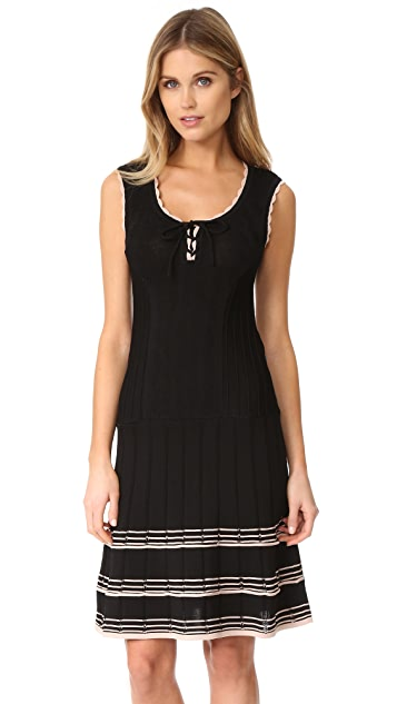 Nanette Lepore Santa Maria Lace Up Dress