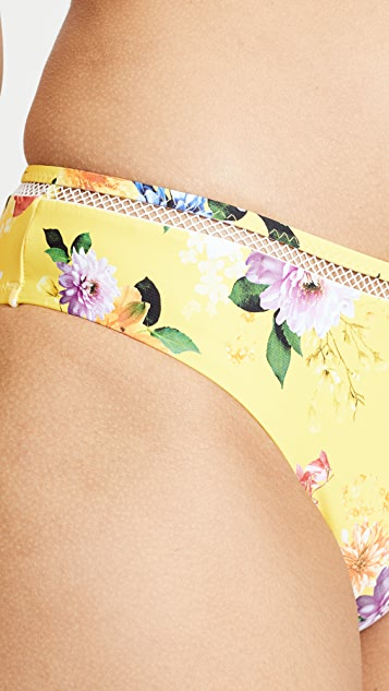 Nanette Lepore Monaco Bouquet Charmer Swim Bottoms
